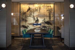 Hotel Storchen Table Art