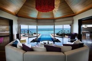 Huvafen Fushi Ocean Pavilion Living Room