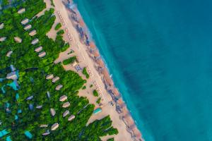 Jungle Beach by Uga Escapes Aerial View