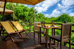 Jungle Beach by Uga Escapes Beach Lagoon Cabin Balcony
