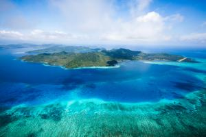 Laucala Island laucala island aerial sc