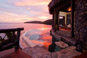 Laucala Island peninsula villa lounge 2