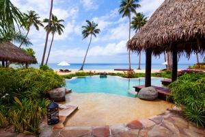 Laucala Island plantation villa pool 9