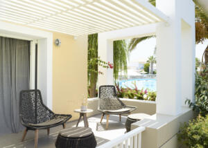 Neptune Hotels Resort Convention Centre & Spa Deluxe Family Room Terrace