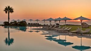 Neptune Hotels Resort Convention Centre and Spa  Pool dusk