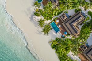 Pullman Maldives Beach Family Villa Aerial
