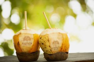 Raffles Seychelles Food Beverages Coconut Picnic