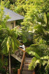 Raffles Seychelles Villas Garden Villa Entrance