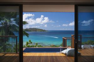 Raffles Seychelles Villas Pool View