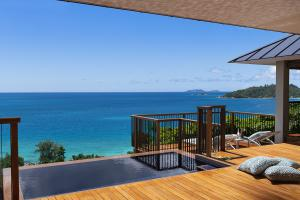 Raffles Seychelles Villas Terrace View