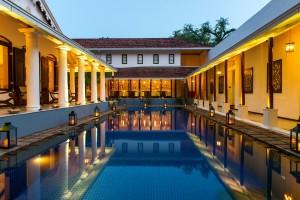 Residence by Uga Escapes Pool dusk