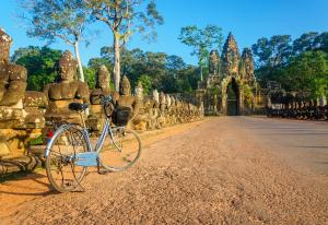 Sens Asia Travel Kambodscha Cycling Angkor Wat