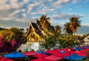 Sens Asia Travel Laos Buddhist  temple Luang  Prabang