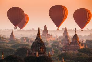 Sens Asia Travel Myanmar Hot air balloon Bagan