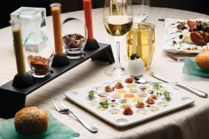 Silversea Cruises Culinary&Wine Food Selection of Appetizers