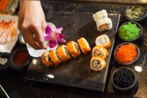 Silversea Cruises Culinary&Wine Sushi Rolls