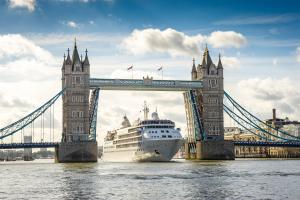 Silversea Cruises Silver Wind London