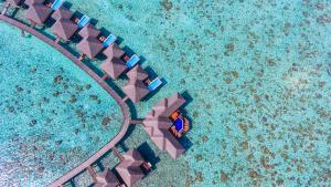 Sun Aqua Vilu Reef Water Villas Aerial
