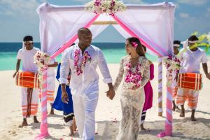 Sun Aqua Vilu Reef Wedding