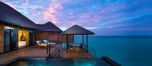 The Sun Siyam Iru Fushi Infinity Water Villa Terrace
