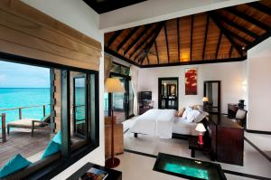 The Sun Siyam Iru Fushi Water Villa Room