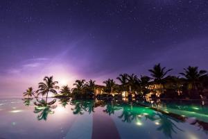 Uga Bay by Uga Escapes Pool at Moonrise