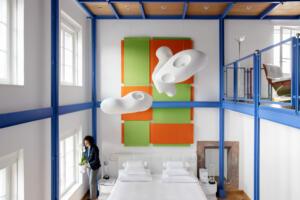 Widder Hotel Design Loft Suite Bett