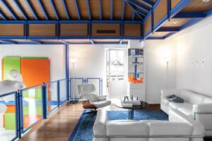 Widder Hotel Design Loft Suite Sofa