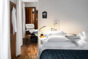 Widder Hotel Design Suite Doppelbett