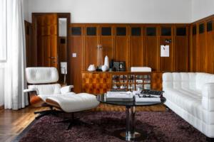 Widder Hotel Design Suite Wohnzimmer