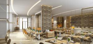 Zulal Wellness Resort Rendering Family Restaurant