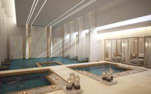 Zulal Wellness Resort Rendering Female Hydrothermal Area
