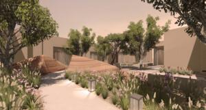 Zulal Wellness Resort Rendering Garden
