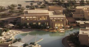 Zulal Wellness Resort Rendering Lagoon