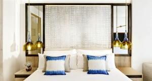 art of travel Nobu Ibiza Junior Suite Sea view bed