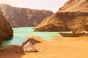 art of travel glamping Oman